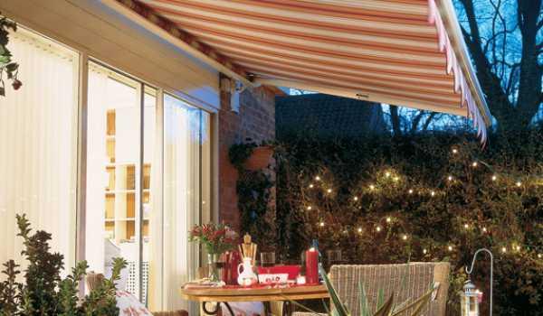 extending garden awning