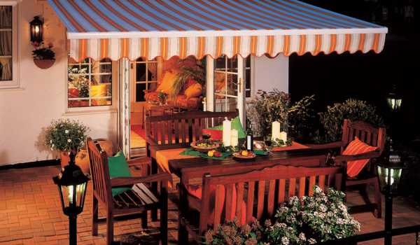 made to measure garden awning
