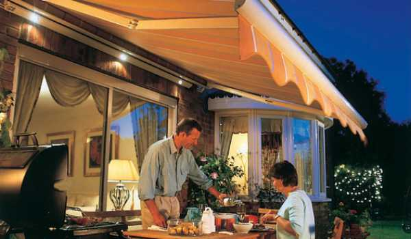 domestic awning