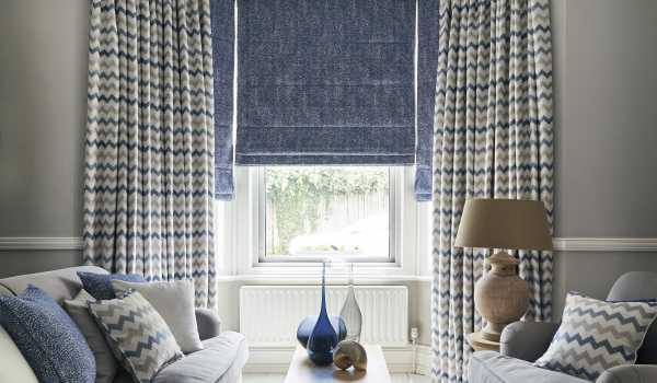 Roman Blinds Amp Made To Measure Roman Blinds Leicester