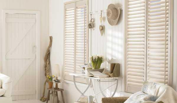 beach house style shutter