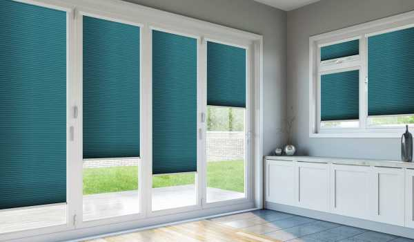 Bi-folding Door Blinds