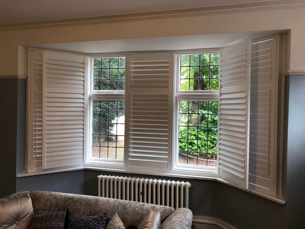 Bay Window Blinds Shutters Leicester Coventry