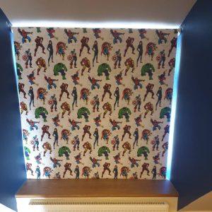 Avengers Marvel blinds in kid's room