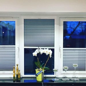 perfect fit blinds partly open