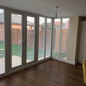 perfect fit blinds on picture windows