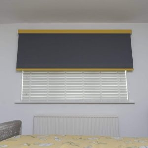 smart speaker operated blinds