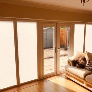 perfect fit blinds in sunny room