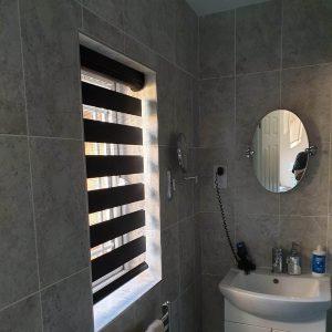 Vision blind in bathroom