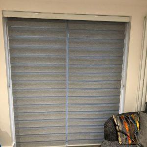 grey full length vision blinds